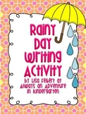 Rainy Day writing activity