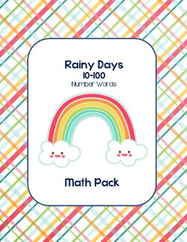 Rainy Days 10-100 Math Words