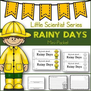 Rainy Days-Emergent Reader/GraphicOrganizers