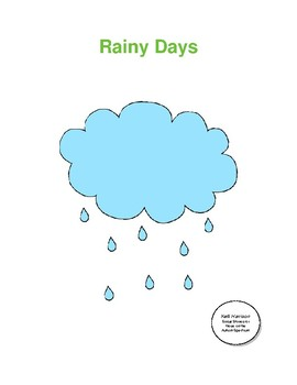 Rainy Days: A Social Story About the Fear of Rain and Thunderstorms