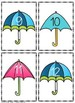 Rainy Days Counting Game Numbers 1 - 30