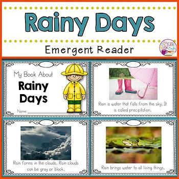 Rainy Days Emergent Reader