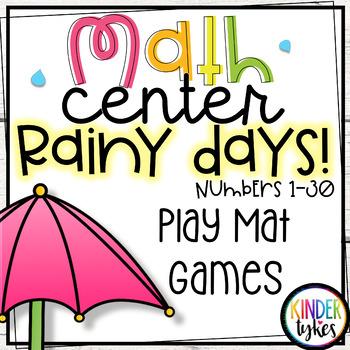 Rainy Days Play Mat Games