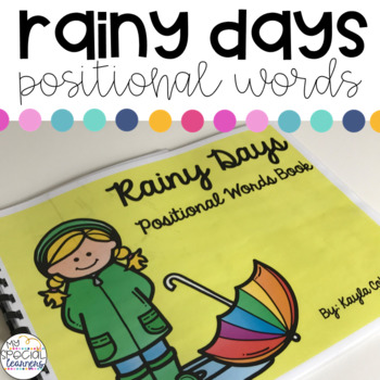 Rainy Days Positional Words Book