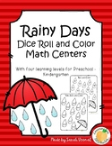 Rainy Days Roll and Color - BLACK AND WHITE