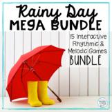 Rainy Days! Spring MEGA BUNDLE: 15 Interactive Rhythmic/Melodic Games!