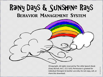Rainy Days & Sunshine Rays Weather-Themed Behavior System