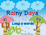 Rainy Days - Word Building with Long Vowel a -- ai, ay