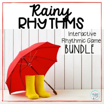 Rainy Rhythms - Spring Interactive Rhythm Game BUNDLE - 10 GAMES!