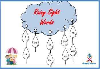 Rainy Sight Words