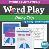 Rainy Trip -ip Word Family Poem of the Week - Short Vowel