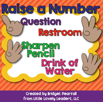 """""""Raise a Number"""" Posters"""