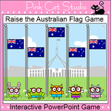Raise the Australian Flag Review game for the SmartBoard a