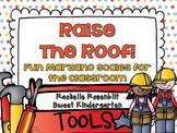 Raise the Roof! {Fun classroom Marzano Scales}