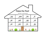 Raise the Roof Word Family Game