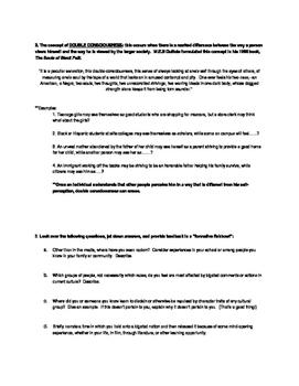 Raisin in the Sun Closure Activity (Race Relations/Racism/Prejudice)
