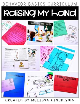 Raising My Hand- Behavior Basics Program for Special Education