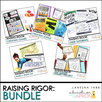 Raising Rigor BUNDLE!