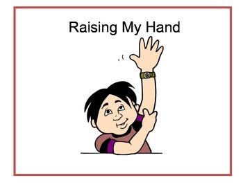 Raising Your Hand Social Story