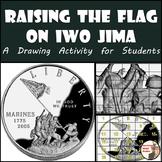 Raising the Flag on Iwo Jima - Drawing Activity - World War II