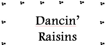Raisins Experiment