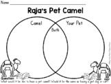 Raja's Pet Camel