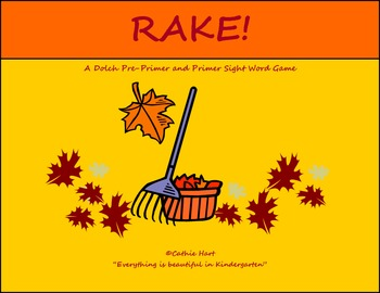 Rake! A Sight Word Game