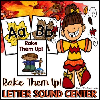 Letter Identification & Letter Sound Phonics Game/Center Activity