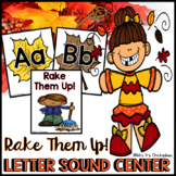 Letter Identification & Letter Sound Phonics Game/Center Activity