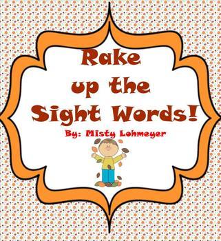 Rake up the Sight Words!