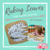Raking Leaves- Fine Motor Tracing