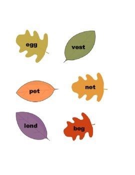 Raking Up Long and Short Vowels: e