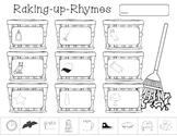 Raking Up Rhymes (Fall Rhyming Activity)