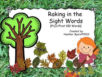 Raking in the Sight Words