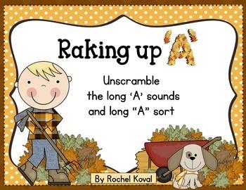 """Long vowel """"A"""" spellings - Raking up 'A'"""