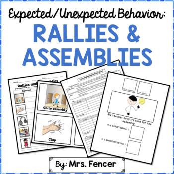 Rallies and Assemblies Behavior
