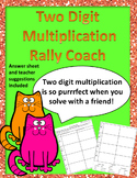 Rally Coach 2 Digit Multiplication