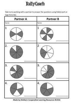 Rally Coach Simple Circle Fractions