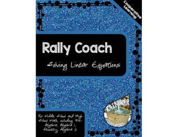 Rally Coach - Solving Linear Equations