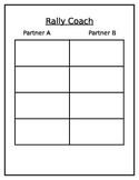 Rally Coach template