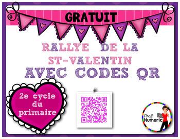 Saint-Valentin Rallye codes QR- GRATUIT
