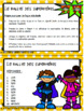 Rallye des Superhéros SOUSTRACTION de nombres à 4 chiffres // French math game