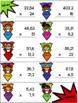 Rallye des superhéros : La multiplication de nombres décimaux