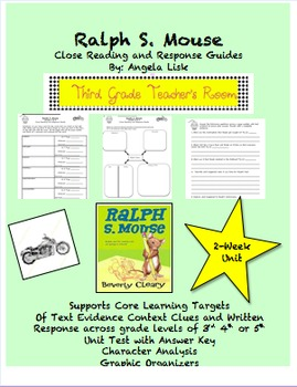 Ralph S. Mouse Core Aligned Close Reading and Response Guide