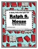 Ralph S. Mouse by Beverly Cleary: A Book Test and Answer Key