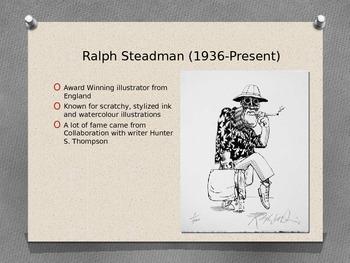 Ralph Steadman Powerpoint and Video