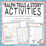 Ralph Tells a Story Activities Crossword Word Searches Wor