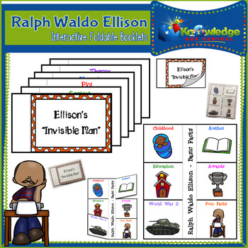Ralph Waldo Ellison Interactive Foldable Booklets - Black History Month