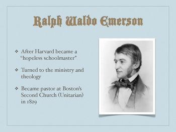 Ralph Waldo Emerson Biographical Overview