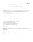 Ralph Waldo Emerson Exam Review